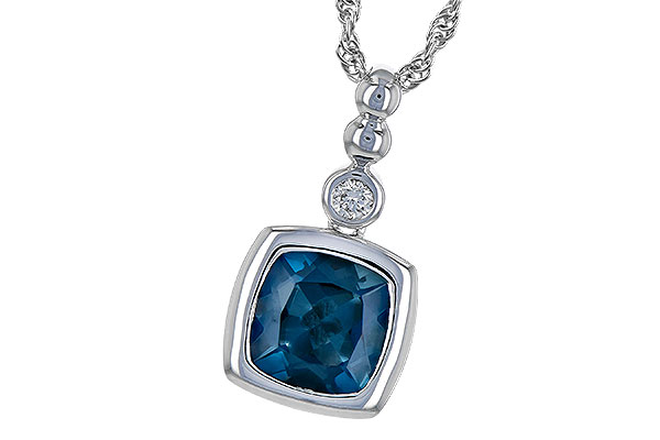 A208-93740: NECK 1.50 LONDON BLUE TOPAZ 1.54 TGW