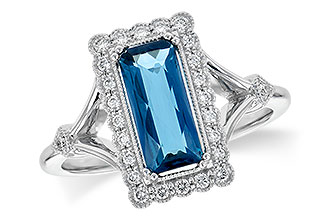 B208-96531: LDS RG 1.58 LONDON BLUE TOPAZ 1.75 TGW
