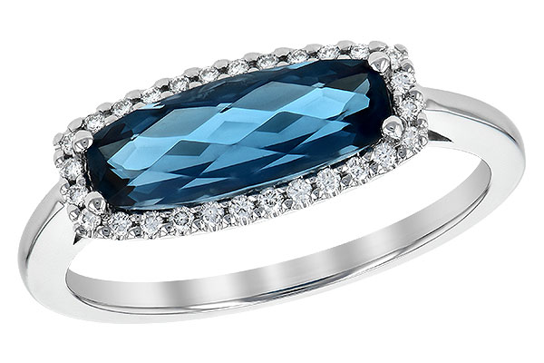 D208-95622: LDS RG 1.79 LONDON BLUE TOPAZ 1.90 TGW