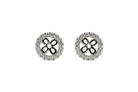H206-21922: EARRING JACKETS .24 TW (FOR 0.75-1.00 CT TW STUDS)